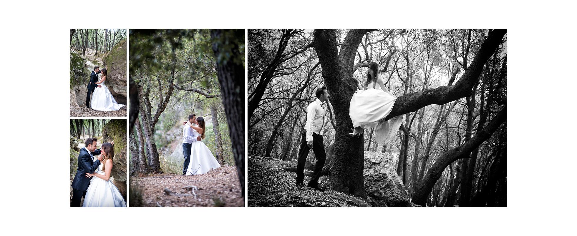 Post boda en Mallorca tanto en fotos como vídeo